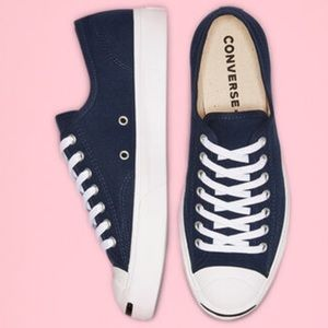 EUC Converse Jack Purcell Navy Low Top - 12